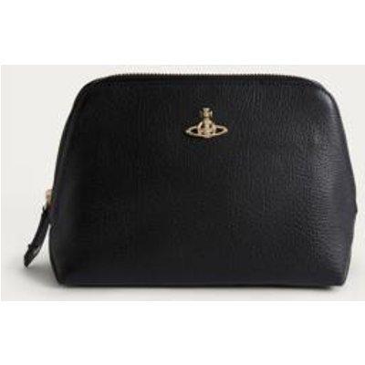 Vivienne Westwood Balmoral Black Make-Up Bag, black