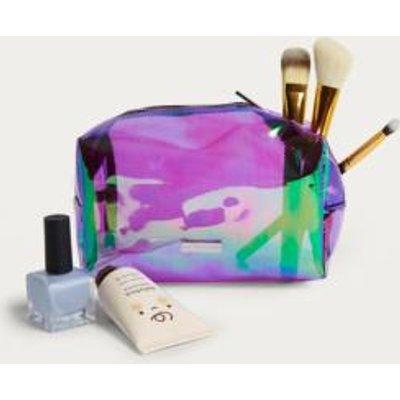 Skinnydip Purple Dazzle Make-Up Bag, Purple