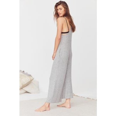 Out From Under Cosy Culotte Jumpsuit, grey