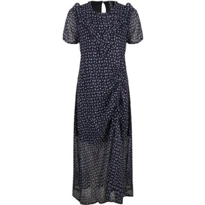 Jane Lushka Ms919Hs700 Dress Blue print