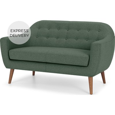 Ritchie 2 Seater Sofa, Darby Green