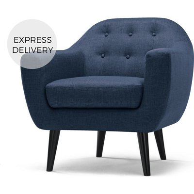 Ritchie Armchair, Scuba Blue