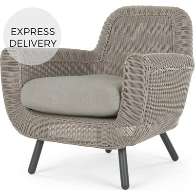 Jonah Garden Armchair, Light Grey