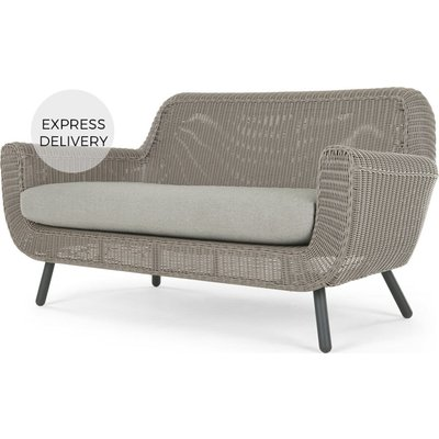 Jonah Garden 2 Seater Sofa, Light Grey