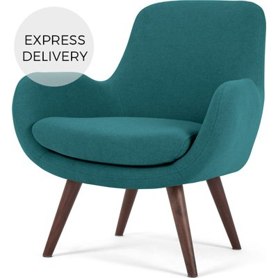 Moby Accent Armchair, Mineral Blue