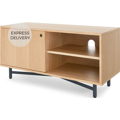 MADE Essentials Benn Media Unit, Oak and Grey