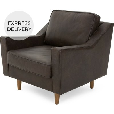 Dallas Armchair, Oxford Brown Premium Leather