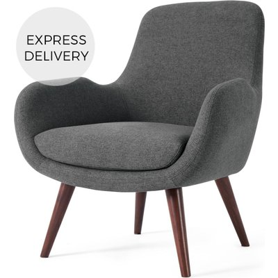 Moby Accent Chair, Marl Grey