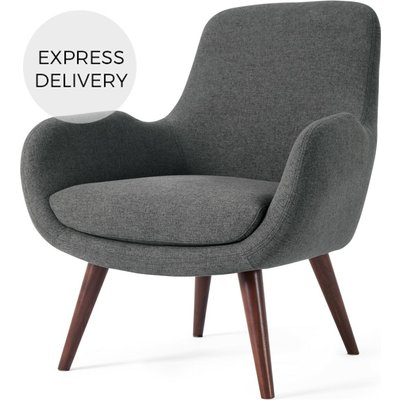 Moby Accent Armchair, Marl Grey