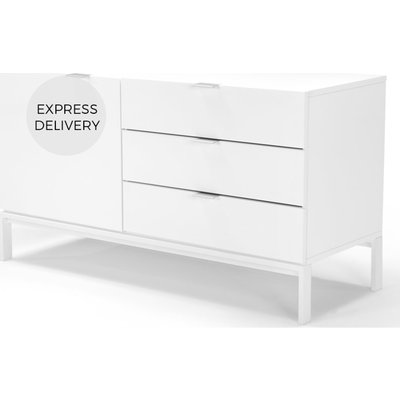 Marcell Compact Sideboard, White