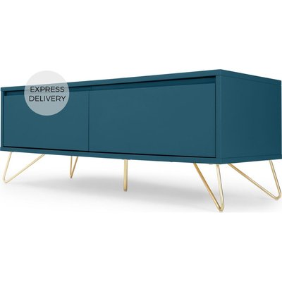 Elona Media Unit, Teal and Brass