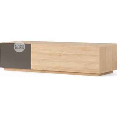 MADE Essentials Hopkins Media Unit, Oak and Grey