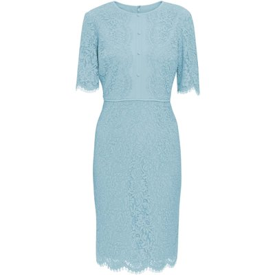 Gabby Button Bodice Lace Dress