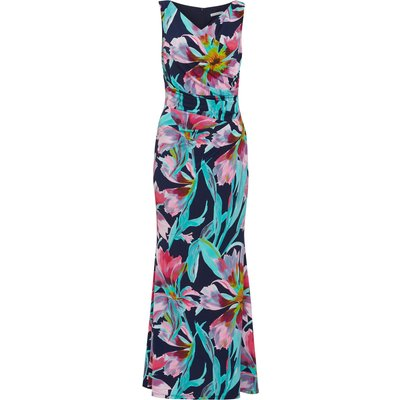 Gusta Floral Jersey Maxi Dress