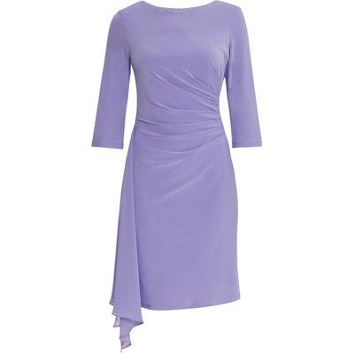 Jamina Jersey And Chiffon Dress