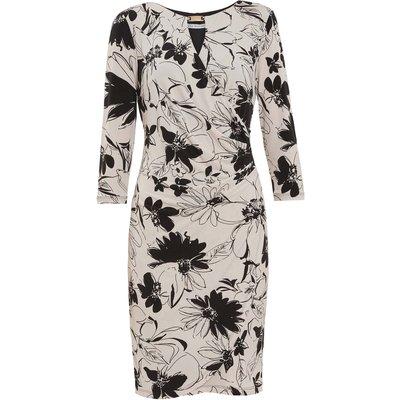 Cladine Floral Jersey Dress