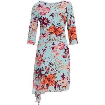 Sohalia Jersey And Chiffon Dress