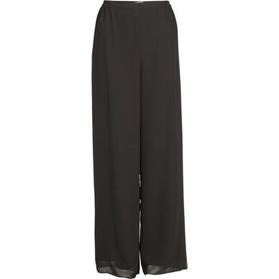 Chiffon Layered Trouser With Slits