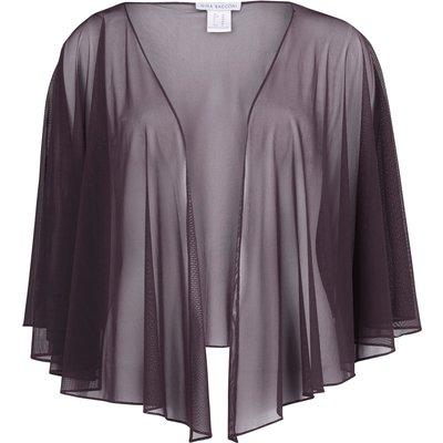 Mesh short shawl