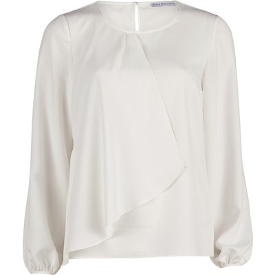 Soho crepe frill blouse