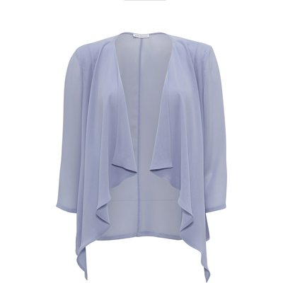 Chiffon waterfall jacket