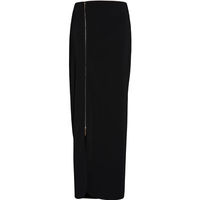 Statement Zip Maxi Skirt