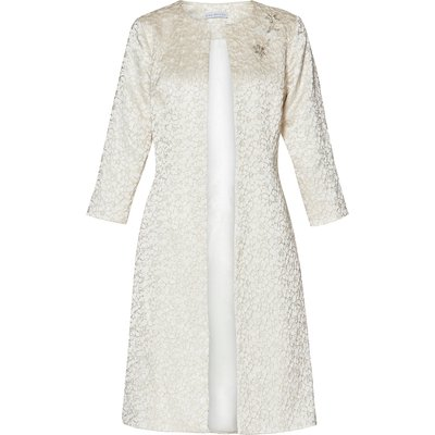 Marion Floral Jacquard Coat
