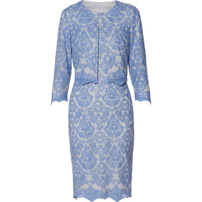 Vera Embroidered Dress And Jacket