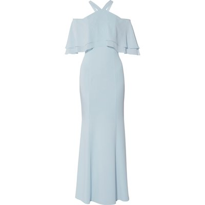 Carys Crepe And Chiffon Maxi Dress