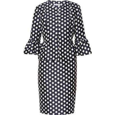 Geraldine Spot Dress And Jacket