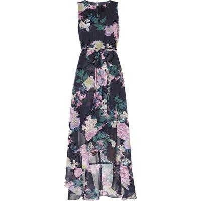 Beti Chiffon Print Maxi Dress