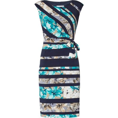 Cosima Floral Stripe Dress