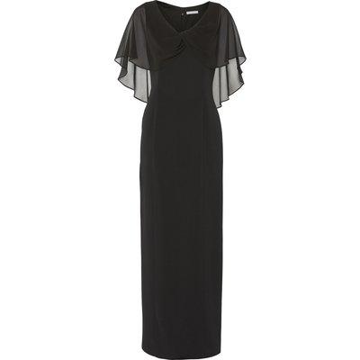 Tayla Crepe And Chiffon Maxi Dress