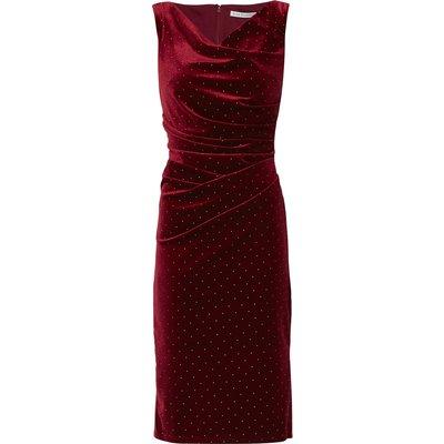 Sonrisa Gold Stud Velvet Dress