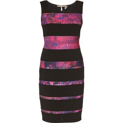 Mayra Print Panel Dress