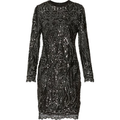 Marzena Sequin Swirl Dress