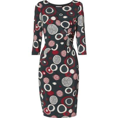 Ralana Circle Print Knot Dress