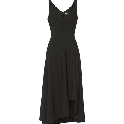 Pilar Moss Crepe Midi Dress