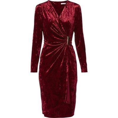 Arabella Crushed Velvet Dress