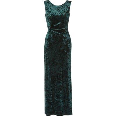 Anabelle Crushed Velvet Maxi Dress