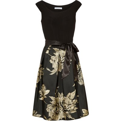 Elza Jersey And Jacquard Dress