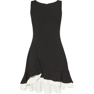 Alba Crepe Layered Dress