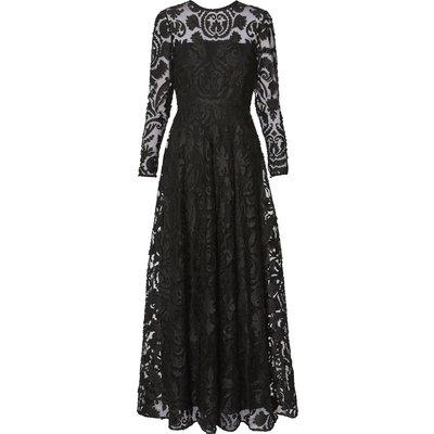 Cesaria Applique Lace Maxi Dress