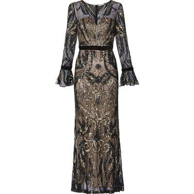 Malissa Beaded Maxi Dress