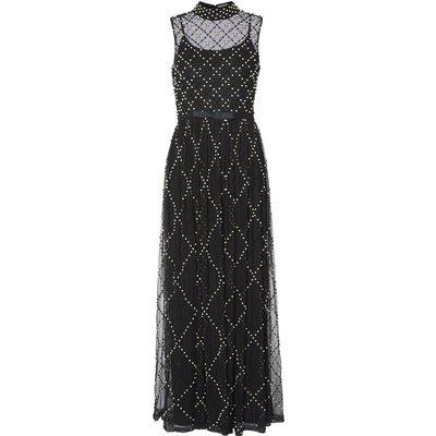 Kaila Pearl Beaded Maxi Dress