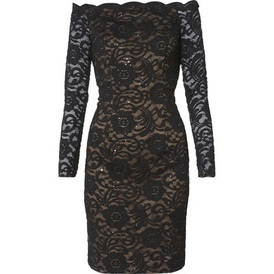 Colleen Sequin Lace Dress