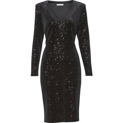 Celeste Sequin Velvet Dress