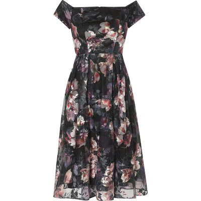 Sonia Embroidered Print Dress