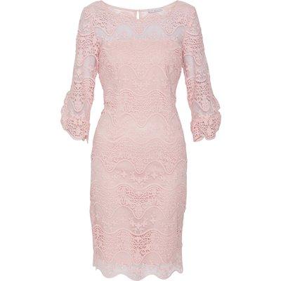 Roxani Wavy Embroidered Dress