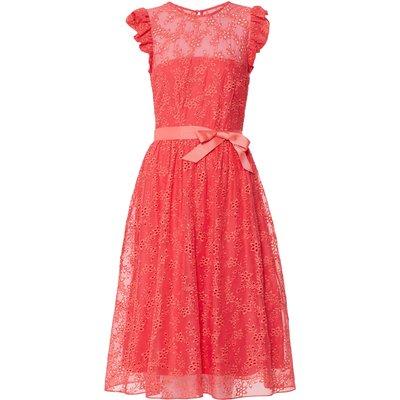 Maliana Embroidered Chiffon Dress